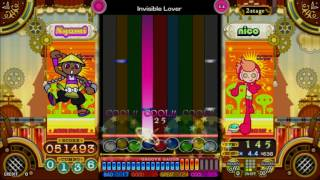[pop'n music うさぎと猫と少年の夢] Lv.40 Invisible Lover (ELECTRO) [EX]