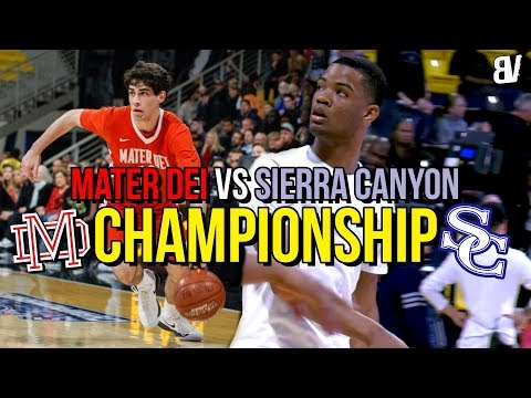 Mater Dei VS Sierra Canyon CHAMPIONSHIP GAME Decided By FUNDAMENTALS! THRILLER Finish