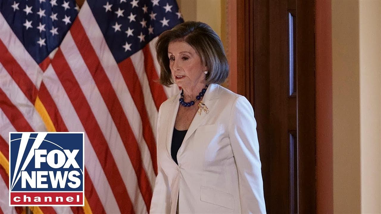 Chad Pergram: What Nancy Pelosi didn't say