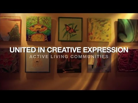 Creative Expression is a cornerstone of United Active Living's approach