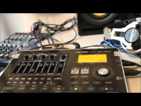 BOSS BR-800 Punk Rock Improvised Compo