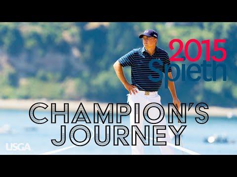 2015 U.S. Open: Jordan Spieth - Every Televised Shot (Champion's Journey)