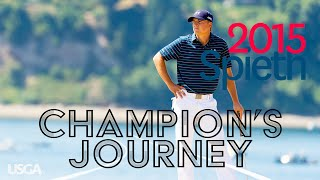 2015 U.S. Open: Jordan Spieth - Every Televised Shot (Champion's Journey)