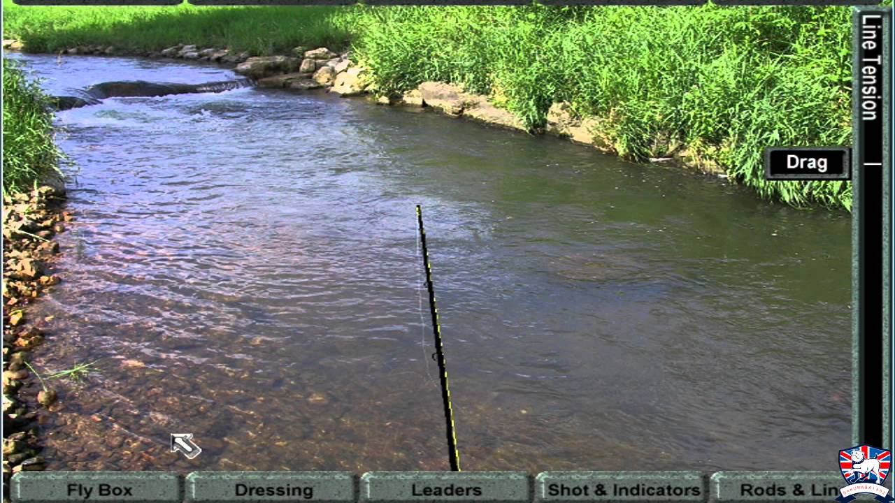 Fly fishing simulator video game tight lines sakmeister for Fly fishing simulator
