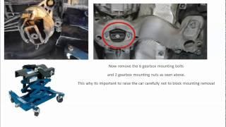 audi a4 b7 2006 2 0 td dual mass flywheel replacement