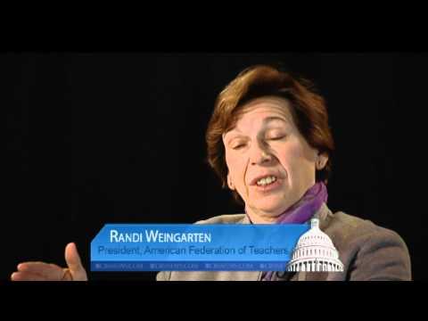 American Federation of Teachers president speaks on unions