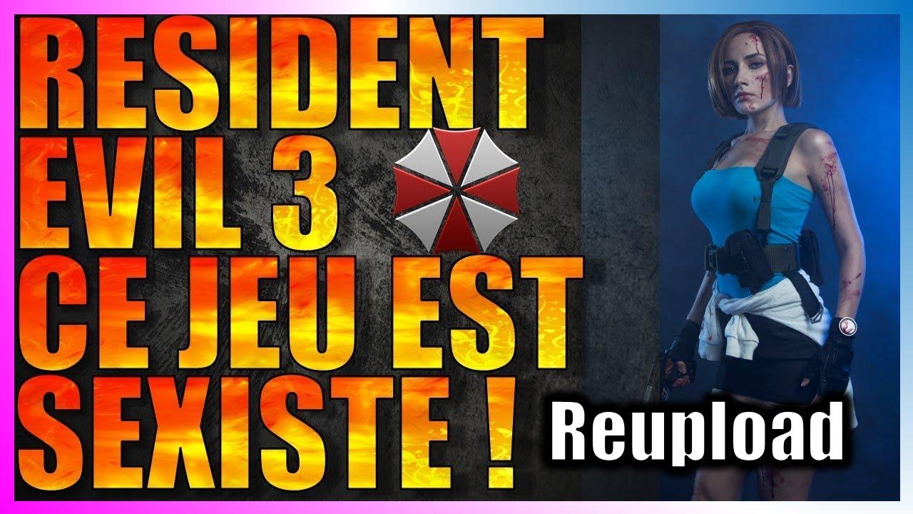 [Reupload] RESIDENT EVIL 3  LE JEU SE FAIT CRITIQUER POUR UNE BIEN CURIEUSE RAISON