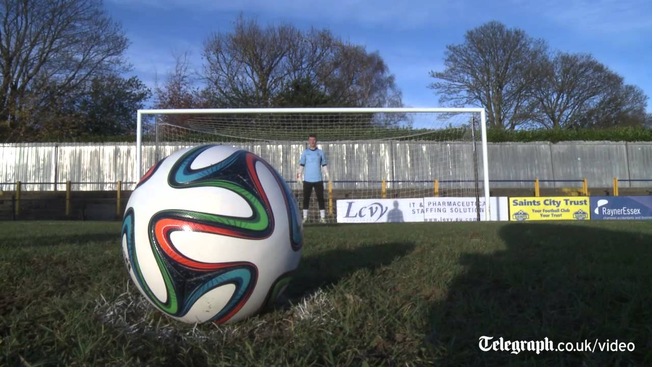 huge selection of 7ce9b 2ed8b New World Cup 2014 Brazuca football put to the test - YouTube