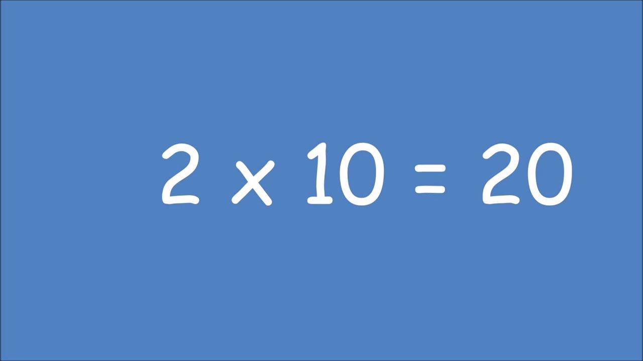 Revisions Tables De Multiplication De 2 3 Et 4 Exercice
