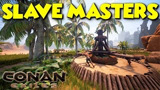 WORST SLAVEMASTERS EVER  -  Conan Exiles - ft. maxmoefoegames