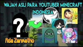 Wajah Asli Para YOUTUBERS Minecraft Indonesia !!! Wow Ada Zenmatho
