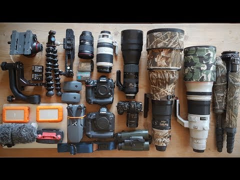 My CAMERA EQUIPMENT For Wildlife Photography In Finland | Photographer's Friday