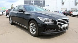 2014 Hyundai Genesis. Start Up, Engine, and In Depth Tour. смотреть