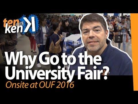 OUF2016: Why Go to the University Fair?