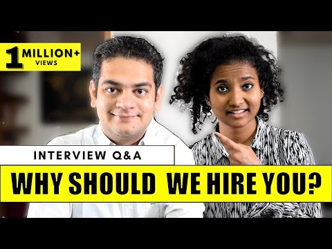 Interview Question: Why Should We Hire You? | Best Answer for Freshers & Experienced People ✓