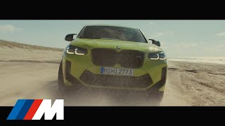 Representing the peak of driving pleasure the new BMW X4 M Competition (Fuel consumption weighted combined in l/100km: 10.9-10.5 (WLTP), CO2 ...