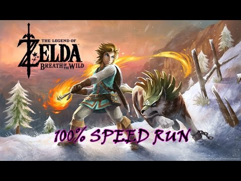 🔴100% SPEED RUN! | ZELDA: BREATH OF THE RUN ;)