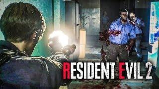 RESIDENT EVIL 2 - GAMEPLAY DO REMAKE EXCLUSIVO DA E3 =O
