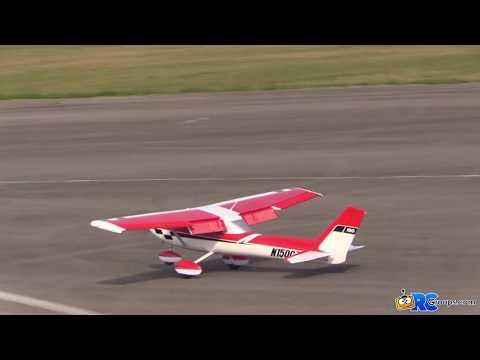Review Horizon Hobby E-flite Carbon Z Cessna 150 Review - RC