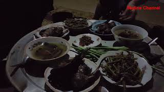 เยี่ยมยามพี่น้องไทหัวพันEP39:กินข้าวเเลงกับพี่น้องไทบ้านเตื้อม กับข้าวพื้นบ้านแซบหลาย