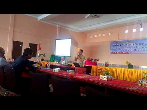 "Launching Buku ""Saat Bidukmu Menepi di Tarabunga: Profil SMAK St Thomas Rasul Samosir"""