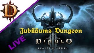 Diablo 3 Reaper of Souls LIVE - Jubiläums Dungeon mit Kuh - Let's Play Diablo 3 Deutsch Angelus