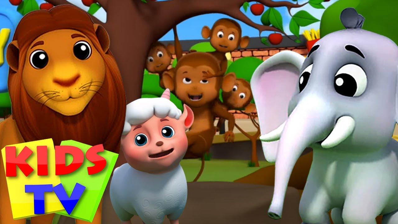 기차를 밥 | 동물 소리 노래 | 어린이동요 | 유치원 동영상 | Kids Tv Korea | 애니메이션