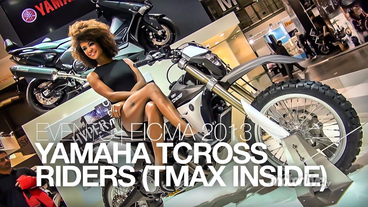 nouveau 2014 eicma yamaha t cross tmax 2014 youtube. Black Bedroom Furniture Sets. Home Design Ideas