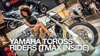nouveau 2014 eicma yamaha t cross tmax 2014. Black Bedroom Furniture Sets. Home Design Ideas