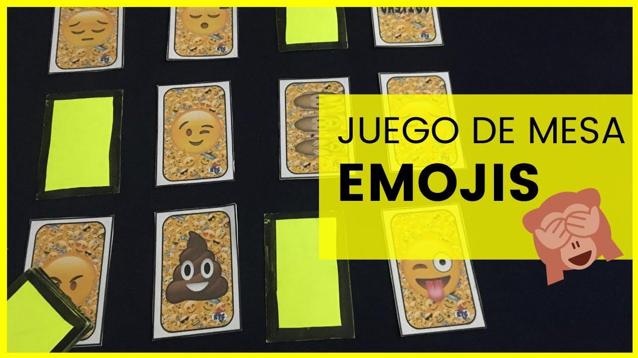Como Hacer Un Juego De Mesa De Emojis Youtube