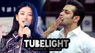 Chinese Actress Zhu Zhu OPENS On Salman Khan's TUBELIGHT