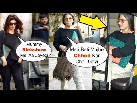 Twinkle Khanna LEAVES Her Mother Dimple Kapadia Behind | Dimple Travels In Rickshaw Mp3