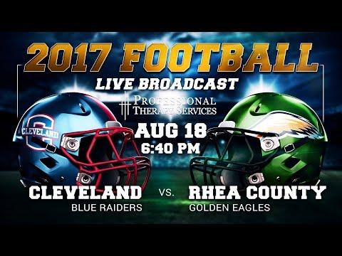 2017 Football - Cleveland at Rhea County