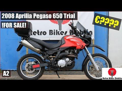 2008 Aprilia Pegaso 650 Trial - (Overview)