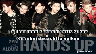2PM - Hands Up! [Karaoke Lirik Lagu]