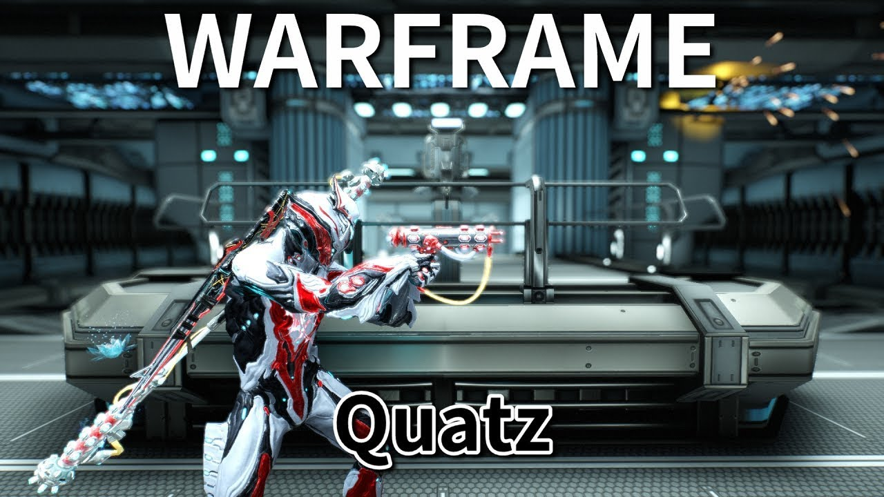 《Warframe》武器介紹─Quatz【吸血蝶の兵器百科】 - YouTube