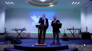 Todd Aaron Preaching For Passover at a Church in Cuscatancingo, El Salvador (English & Español)