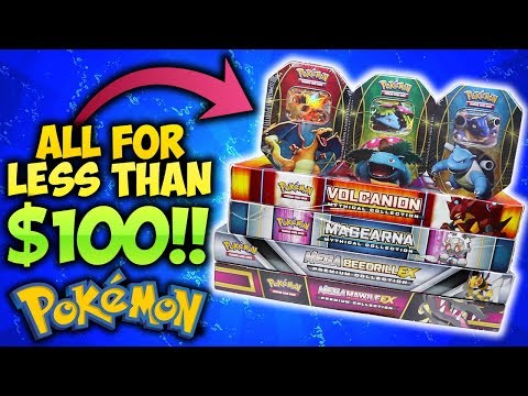 ALL FOR LESS THAN $100! BEST POKEMON CARD DEALS! Part 1