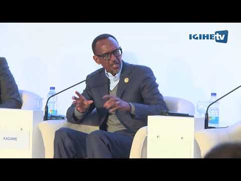 H E Paul Kagame attends 2nd Africa Business Forum in Egypt