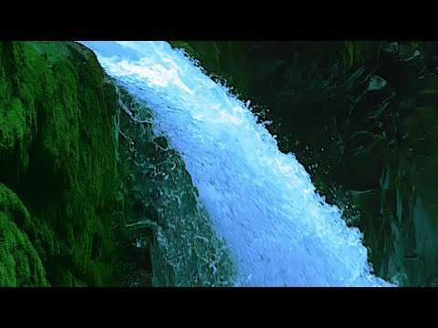 White Noise Waterfall For Sleep, Focus, Studying, Soothe A Baby | Water Sounds 10 Hours