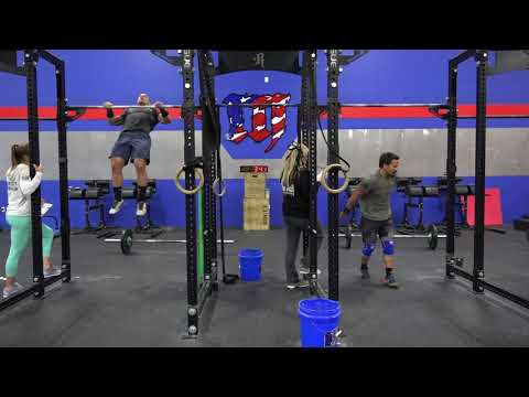 Mat Fraser vs Josh Bridges  18.5 CrossFit Open 198 reps