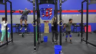 Mat Fraser vs Josh Bridges - 18.5 CrossFit Open 198 reps