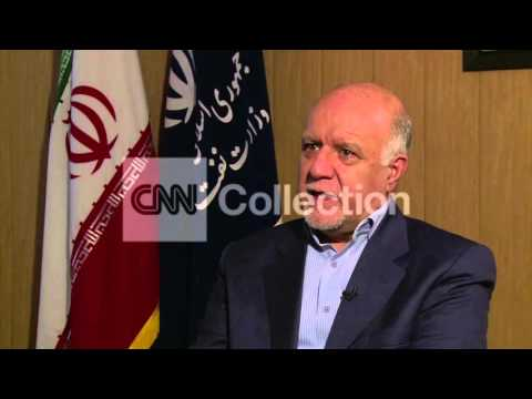 """IRAN OIL MIN: """"WE CAN""""T LOSE OUR SHARE IN THE MARKET"""" (CNN EXCLUSIVE)"""