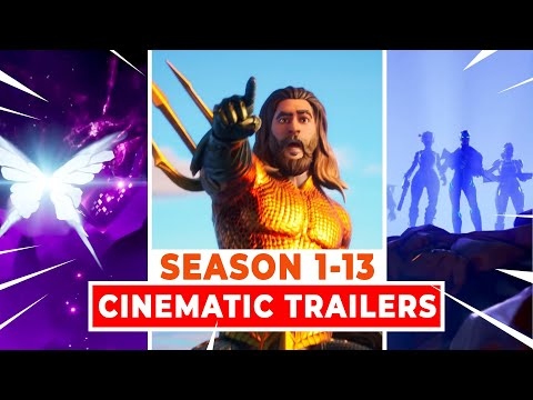 All Fortnite Cinematic Trailers (Season 1-13)