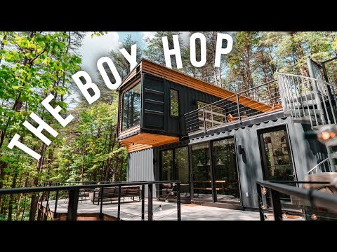 the-box-hop-airbnb-tour!-|-shipping-container-home!