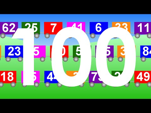 Counting to 100 song | Learn to count to 100 | NurseryTracks