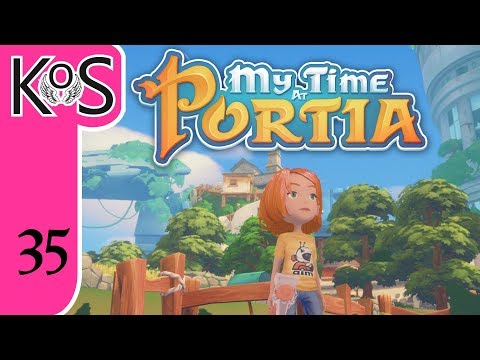 My Time at Portia Ep 35: THOSE DARN POWER STONES - Early Access - Let's Play, Gameplay