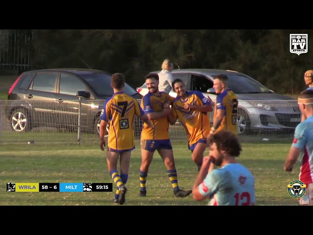 2019 Group 7 RL 1st Grade Round 6 Highlights - Warilla-Lake South vs Milton-Ulladulla