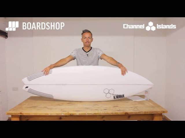 Channel Islands Rocket 9 Surfboard Review