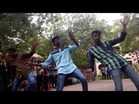 Vijaya collage of pharmacy flash mob.....